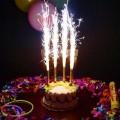 Фонтан в торт