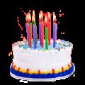 Свечи и украшения для торта