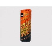 Цветной дым Smoke fountain - оранжевый