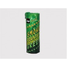 Цветной дым Smoke fountain - зеленый