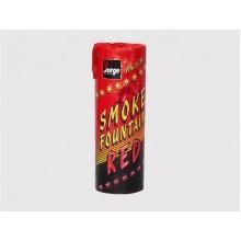 Цветной дым Smoke fountain - красный
