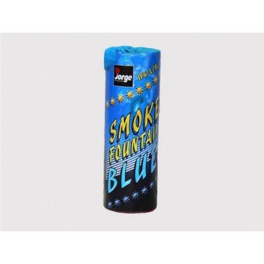 Цветной дым Smoke fountain - синий
