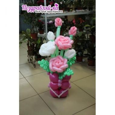 Корзина с розами (предварительный заказ)