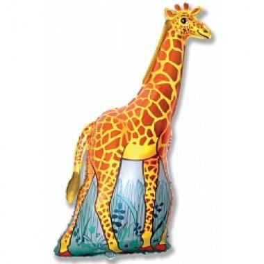 """Шар с гелием (117 см) """"Жираф"""""""