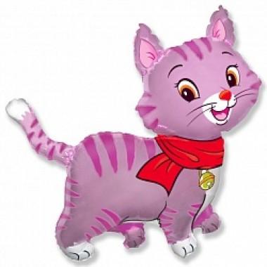 """Шар с гелием (81 см) """"Любимый котенок, розовый"""""""