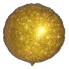 "Круг Блестящий Золото 18"" (48 см) (Faux Sparkle Gold S30)"