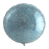 "Круг Блестящий Голубой 18"" (48 см) (Faux Sparkle Blue S30)"