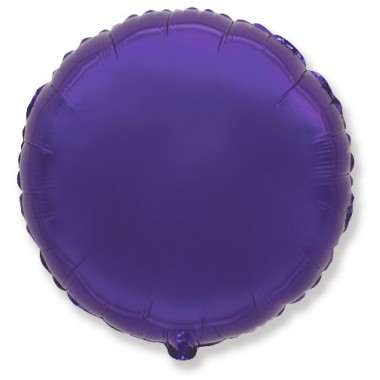 """Круг Фиолетовый 18"""" (48 см) (Rnd Violet Flex Metal)"""