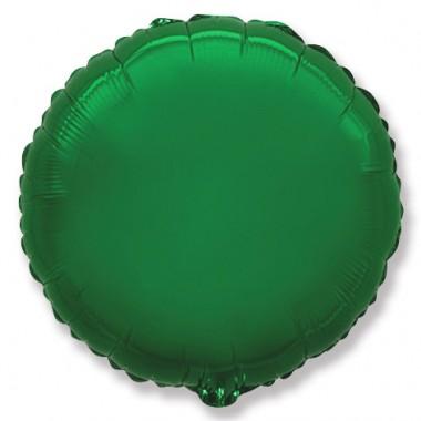 "Круг Зелёный 18"" (48 см) (Rnd Green Flex Metal)"