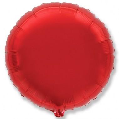 """Круг Красный 18"""" (48 см) (Rnd Red Flex Metal)"""
