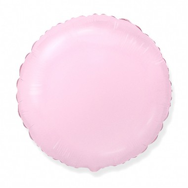 """Круг Розовый 18"""" (48 см) (Rnd Pink baby)"""