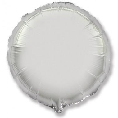 "Круг Серебро 18"" (48 см) (Rnd Silver Flex Metal)"