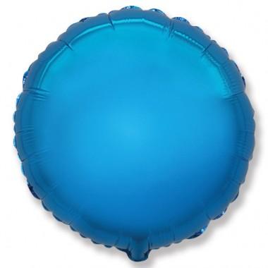 "Круг Синий 18"" (48 см) (Rnd Blue Flex Metal)"