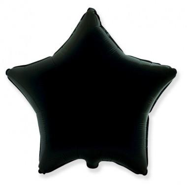 """Звезда Черный 18"""" (48 см)"""