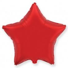 """Звезда Красный 18"""" (48 см) (Star Red Flex Metal)"""