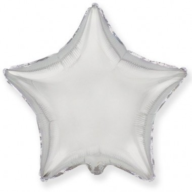 "Звезда Серебро 18"" (48 см) (Star Silver Flex Metal)"